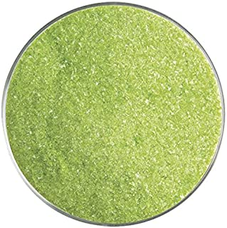 Pea Pod Opalescent Fusible Glass Fine Frit - 4oz - 90COE - Made from Bullseye Glass