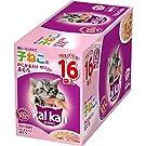 カルカン パウチ 12か月までの子ねこ用 かにかま入りまぐろ キャットフード 70g×16袋 (まとめ買い)