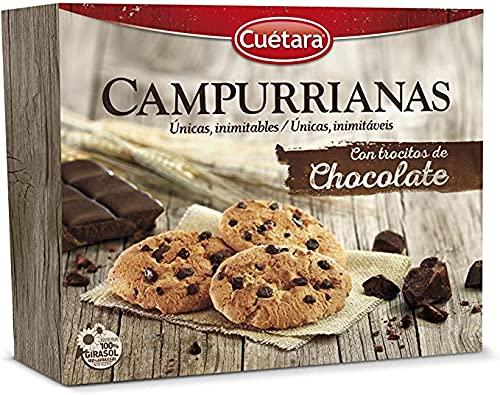 Galletas Campurriana Sabor Chocolate - 400g - 8 Und