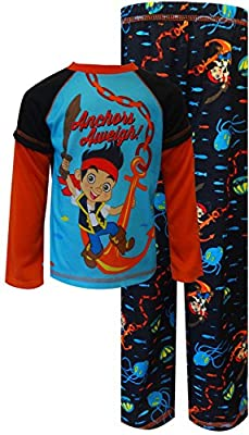 Disney Jake and The Neverland Pirates Anchors Aweigh Pajamas for Little Boys (2T), Multicolor, Size 2T