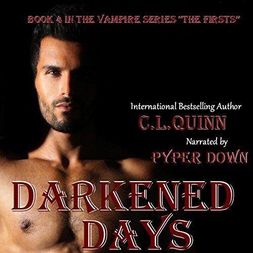 Darkened Days audiobook cover art