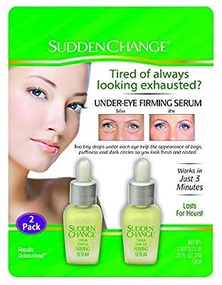 Sudden Change Under-Eye Firm Serum 0.23oz (2 Pack) by Sudden Change