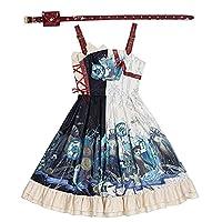 ゴシックロリータjskドレス岬プラスサイズヴィンテージビクトリア朝のドレス女性甘いプリンセスティーパーティードレス服