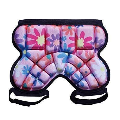 MiOYOOW Protektorenhose, 3D Protektorhosen Schutzhose für Skifahren Skaten Snowboard