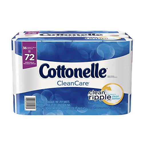 Cottonelle Clean Care Double Roll Bath Tissue, 36 Count