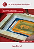 Impresión en serigrafía. argi0310 - impresión en serigrafía y tampografía