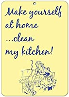 自宅で自分のキッチンをきれいにする!!おかしい見積もりアルミ金属看板