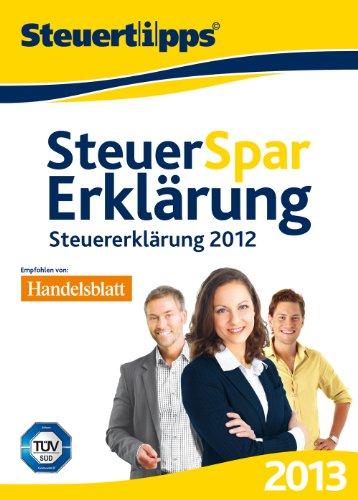 Steuer-Spar-Erklärung 2013 (für Steuerjahr 2012)