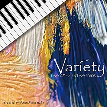 Variety ~1 pianist and 8 composers~
