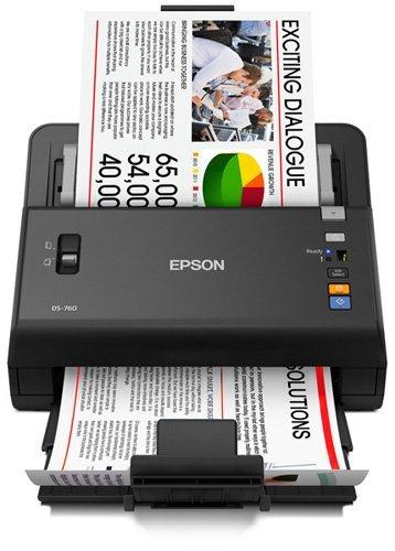 Buy Bargain Epson WorkForce DS-760 Hi Speed, Sheet-Fed Color Document Scanner,  80 page Auto Documen...