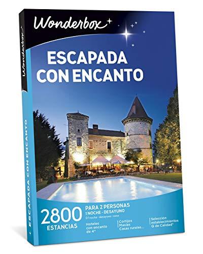 WONDERBOX Caja Regalo para Hombre -ESCAPADA con Encanto- 2.800 estancias para Dos Personas en Casas Rurales, masías y cortijos en España, Italia, Francia y Portugal