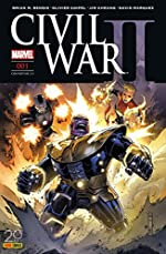 Civil War II nº1 (couverture 2/2) de Brian Michael Bendis