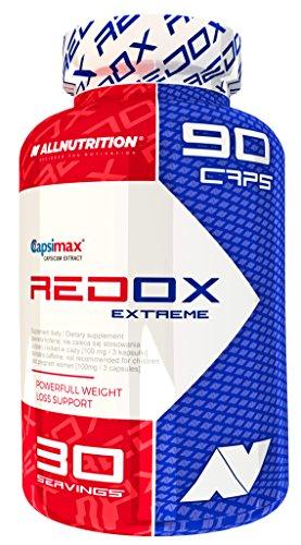 All Nutrition Redox Extreme Suplemento Dietario 90 Cápsulas 180 g