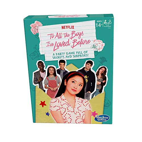 Hasbro Gaming to All The Boys I've Loved Before Board Game; Inspired by The Netflix Original Movie; Party Game Ages 14 and Up