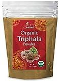 Jiva Organics Organic Triphala Powder 7 Ounce Bag - Ground Amla, Bhibitaki, and Haritaki Fruits...
