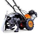 FUXTEC Benzin Gartenfräse FX-AF200 Motorhacke Ackerfräse Bodenfräse Bodenhacke Kultivator mit