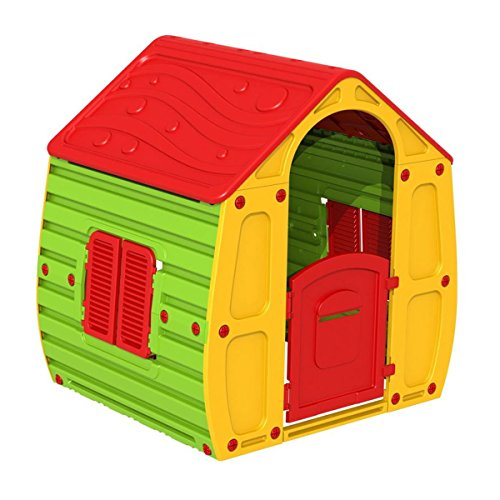 Dynamic24 Maison de jardin magique pour enfant