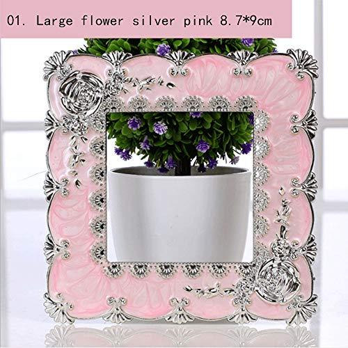 CLOUD Autocollants Muraux De Commutateur Acrylique/Prise De Commutateur De Lumière De Prise Décoration De Maison Minimaliste Moderne Large Flower 8.7 * 9cm-01
