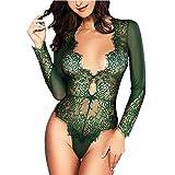 Conjuntos De Ropa De Dormir Y Batas Eróticos para Mujeres Disfraces Eróticos para Mujeres Pijamas De Lencería Pijamas De Atractivo Sexual Mono Black_XL