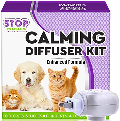 Beloved Pets Pheromone Calming Diffuser Plug in Refill for Cats and Dogs with Long Lasting Effect product image