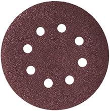 Skil 2610383124 schuurpapier met klittenbandsluiting, 125 mm, korrel 80, 5 stuks