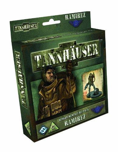 Fantasy Flight Games TH04 - Tannhäuser: Ramirez Figure (englische Ausgabe)