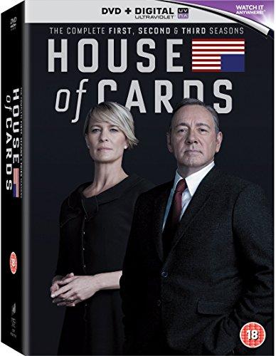 House of Cards - Season 01 / House of Cards - Season 02 / House of Cards - Season 03 - Set [Reino Unido] [DVD]