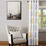 Cortina Patrones Colores | Medidas 140x245 cm en Material Tejido poliéster Backlight translúcido de 185 Gramos | Decoración Hogar