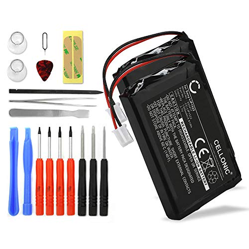 CELLONIC 2X Akku LIP1522 kompatibel mit Sony PS4 Dualshock Ersatzakku 1300mAh + Werkzeug-Set Batterie