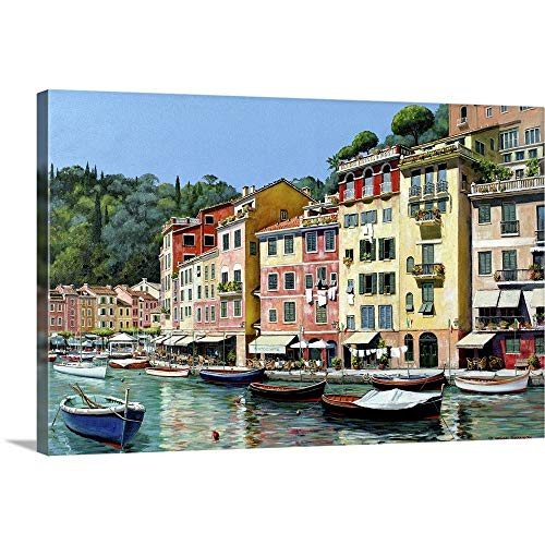 "GREATBIGCANVAS Portofino Canvas Wall Art Print, 36""x24""x1.5"""