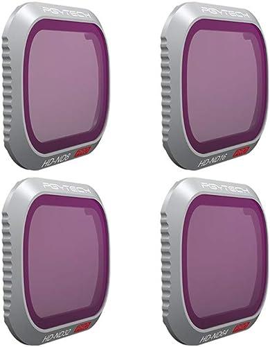 Sisit DJI Mavic 2 Profi Luftaufnahmen Filter 4-Teiliges Set,Für DJI Mavic 2 Pro Drone ND8 ND16 ND32 ND64 Wasserdicht Kamera-Objektivfilter (Mehrfarbig)