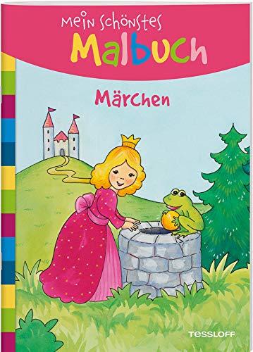 Mein schönstes Malbuch. Märchen: Malen für Kinder ab 5 Jahren (Malbücher und -blöcke)
