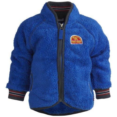 Lego Wear Baby-Jungen Jacke 14265 SAMSON 705-CARDIGAN (FLEECE), Gr. 80, Blau (560 STRONG BLUE)