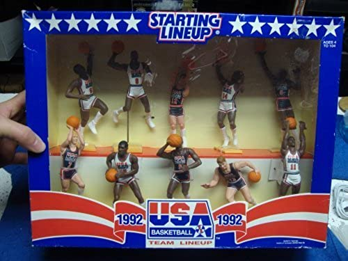 1992 Kenner Starting Lineup USA Basketball Olympic Box Set by Kenner
