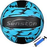 Senston Balon Voley Playa, Balon Voleibol Estilo Camuflaje Tacto Suave Voleibol de Entrenamiento, Balon de Voleibol Tamaño 5 para Interior y Exterior