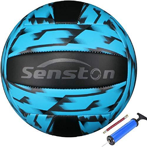 Senston Volleyball Tarnstil Wasserfest Beachvolleyball Weiche Berührung Beach Volleyball für Strand, Garten und Bad