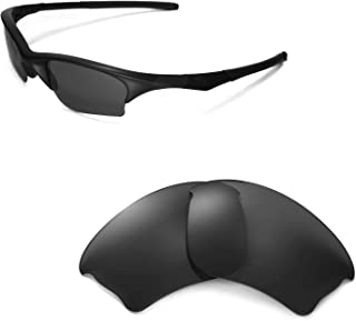 Walleva Replacement Lenses Or Lenses/Rubber Kit for Oakley Half Jacket XLJ Sunglasses - 53 Options