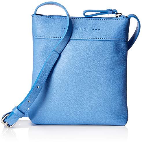ESPRIT Accessoires Damen 019ea1o024 Umhängetasche Blau (Light Blue)