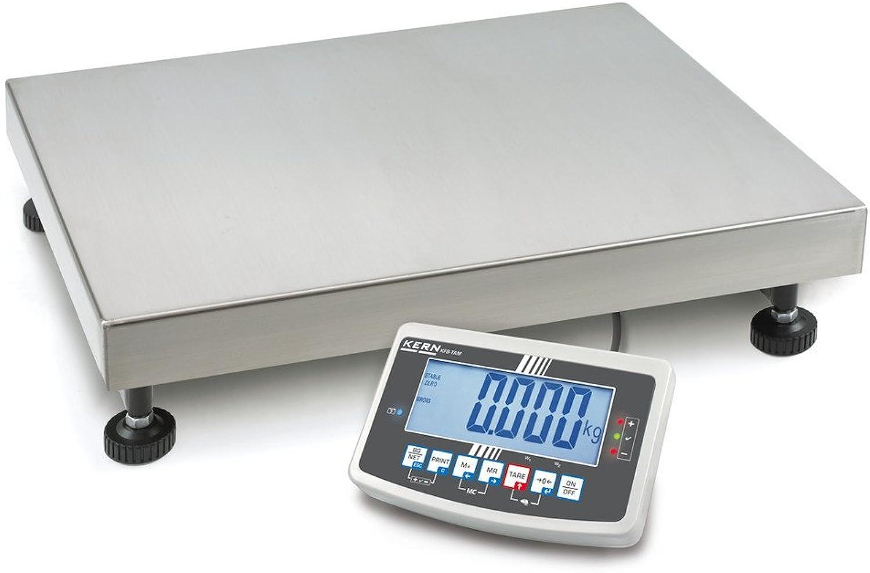 Industriewaage [Kern IFB 100K-3L] 100K-3L] 100K-3L] Robuste Plattformwaage, Wägebereich [Max]  150 kg, Ablesbarkeit [d]  5 g, Reproduzierbarkeit  5 g, Linearität  20 g, Wägeplatte  BxTxH 650x500x142 mm (Edelstahl) B00XJB2A1Y | Eleganter Stil  a3a41c