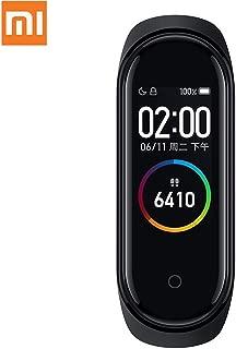 シャオミー Mi Band 4 スマートウォッチ Xiaomi Mi Band 4 bluetooth5.0 グローバル版 2019 日本語 LINE/SMS着信通知 カラースクリーン 防水 心拍計 歩数計 活動量計 心拍数モニター レディース メンズ バンド スマートブレスレット(グローバル)