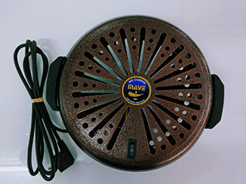 Feuerschale Energiesparlampe Mini (250W-500W) braun