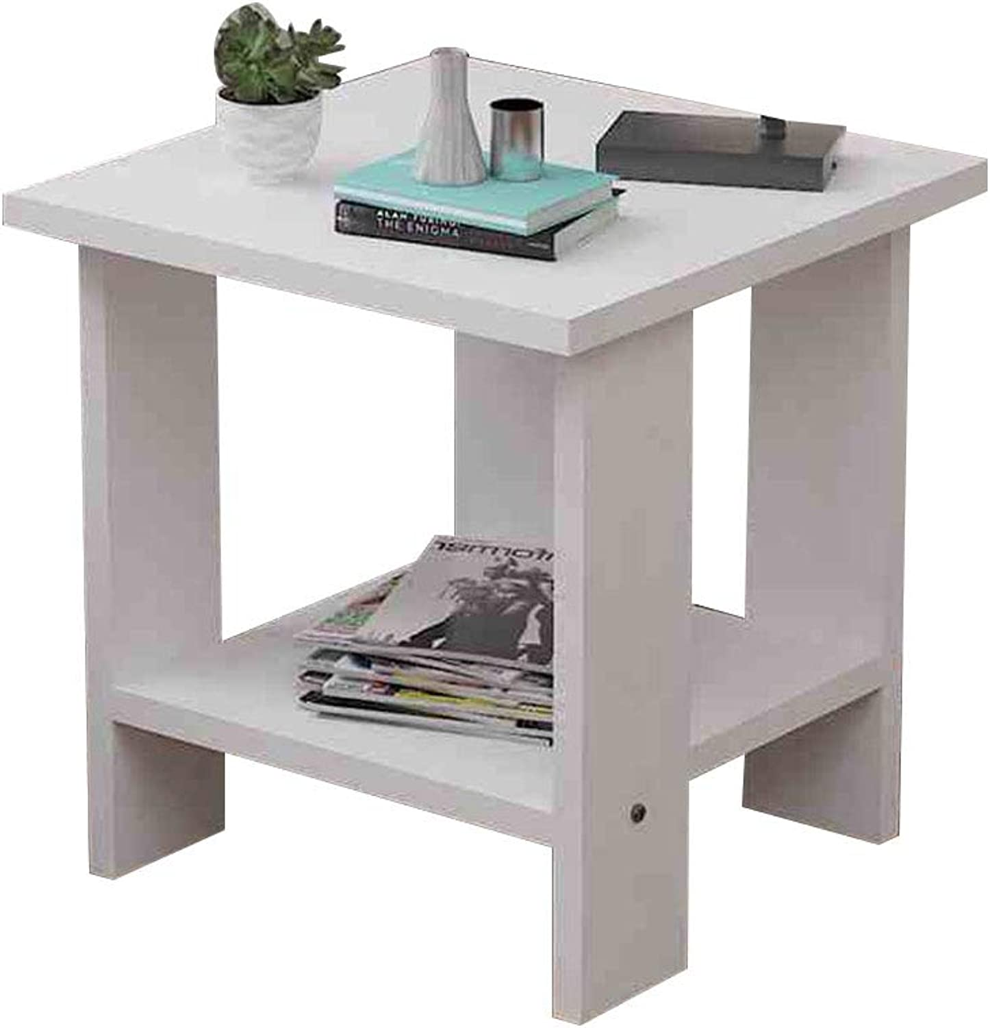 Coffee Table Side Table,Small Apartment Corner Table,Modern Simplicity Snack Table, Suitable for Living Room Sofa Side Bedroom Bedside (Size   40  40  42cm)
