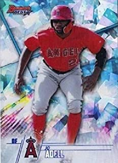 2018 Bowman - Bowman's Best Top Prospects - Jo Adell -ATOMIC REFRACTOR Parallel - Los Angeles Angels Baseball Rookie Card - RC #TP6
