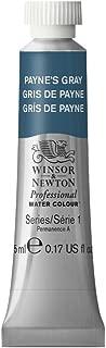 Winsor & Newton Professional Water Colour Paint, 5ml tube, Payne's Gray