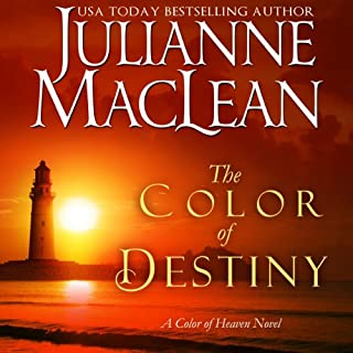 The Color of Destiny     The Color of Heaven Series, Volume 2              By:                                                                                                                                 Julianne MacLean                               Narrated by:                                                                                                                                 Julia Motyka,                                                                                        Jennifer O'Donnell,                                                                                        Paul L. Coffey                      Length: 6 hrs and 19 mins     207 ratings     Overall 4.5