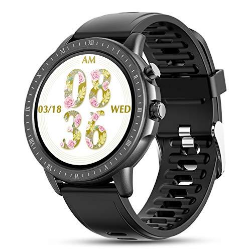 WEINANA Reloj Inteligente Pulsera Full Touch Frecuencia Cardíaca Oxígeno En Sangre Reloj...