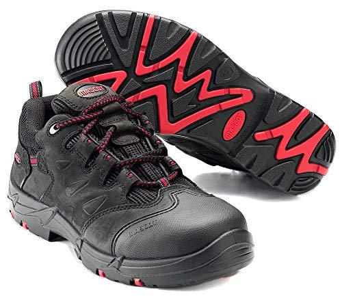 Mascot Kilimanjaro Sicherheitshalbschuh S3 Arbeitsschuhe F0014-901 - Footwear Classic Herren 45 EU Schwarz/Rot