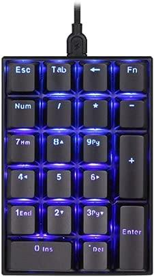 LHQ Digitale Mechanische Tastatur Monochrome Blaue C-Line-Maschine Trennt Box-Schaft Dick Glatt Und Haltbar Unterst tzt Arten Superheller LED-Lichteffekte Schätzpreis : 58,42 €