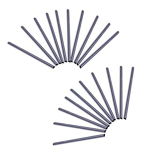 HENGMEI 30 Stück PVC sichtschutzstreifen hellgrau befestigungsclips Sichtschutz Klemmstreifen (30 Stück,Hellgrau)