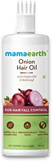 Mamaearth Onion Hair Oil for hair growth with Onion & Redensyl for Hair Fall Control - 250ml